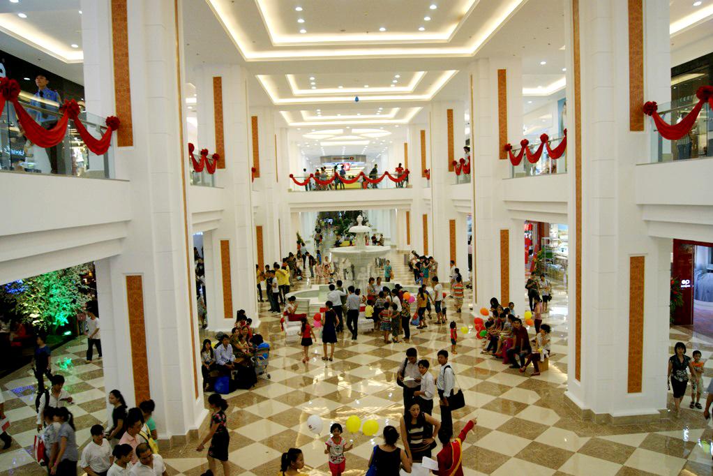 Hình ảnh trung tâm thương mại Royal city